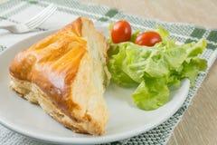 Пирог цыпленка стоковая фотография rf