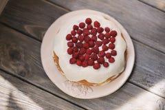 Пирог ягоды с полениками Стоковое Фото