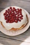 Пирог ягоды с полениками Стоковые Фото