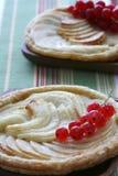 пирог 2 яблока французский Стоковая Фотография