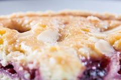 Пирог Bakewell вишни стоковое фото rf