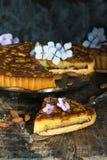 пирог bakewell стоковое изображение