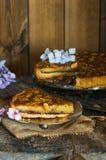 пирог bakewell стоковое фото