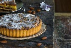 пирог bakewell стоковые фото