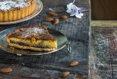 пирог bakewell стоковая фотография