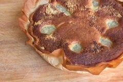 Пирог Bourdaloue Стоковое Фото