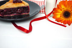 Пирог Cerry Стоковое Изображение