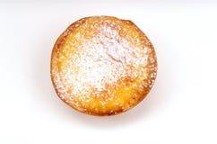 пирог pasteis заварного крема de natas португальский Стоковое Фото