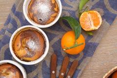 Пирог Tangerine Стоковое фото RF