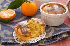 Пирог Tangerine Стоковое Фото
