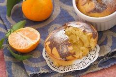 Пирог Tangerine Стоковые Фото