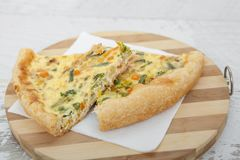 Пирог Vegeterian Стоковая Фотография RF