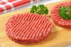Пирожки гамбургера Стоковая Фотография