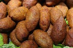 Пирожки Kibbee, ближневосточная фрикаделька стоковые фото