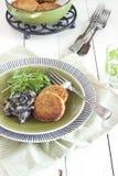 пирожки salmon Стоковые Фотографии RF