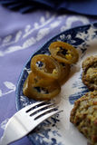 Пирожки Spinage стоковое фото rf