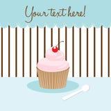 пирожне карточки иллюстрация штока