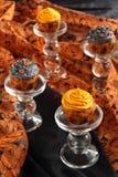 Пирожне тыквы Halloween Стоковые Фото