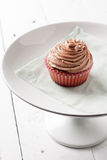 пирожне шоколада Стоковое Изображение
