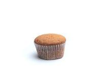 3 пирожного на деревянном столе Стоковая Фотография RF