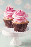 2 пирожного Стоковые Фото