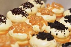 Пирожное арахиса мини Стоковое Фото