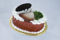Пирожное клубники  Стоковые Фото