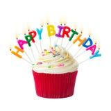 Пирожное дня рождения Стоковые Изображения
