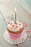 Пирожное дня рождения Стоковые Фотографии RF