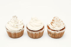 Пирожное с cream замораживать Стоковая Фотография RF