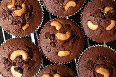 Пирожное шоколада с вилкой Стоковое фото RF