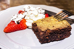 Пирожное шоколада Стоковые Изображения