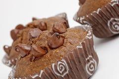 Пирожные булочки обломока шоколада Стоковое Изображение
