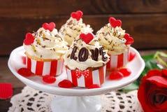 Пирожные валентинки Стоковое Изображение