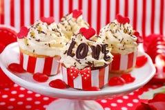 Пирожные валентинки Стоковая Фотография