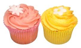 Пирожные вкуса лимона и клубники Стоковая Фотография RF