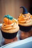 Пирожные в стиле хеллоуина Стоковое фото RF