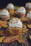Пирожные грецкого ореха тыквы стоковое изображение