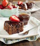 Пирожные кофе Стоковая Фотография RF