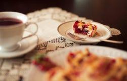 Пирожные красной смородины Стоковое фото RF