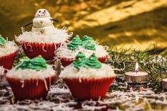 Пирожные Кристмас Стоковое Изображение