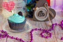 Пирожные праздника на день ` s валентинки Стоковая Фотография RF