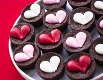 Пирожные сердца Стоковое Фото
