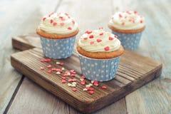 Пирожные с замороженностью Стоковая Фотография