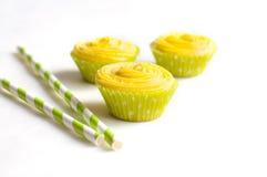 Пирожные с сливк сыра Стоковая Фотография