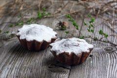 Пирожные творога стоковая фотография