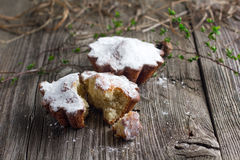 Пирожные творога стоковое фото rf