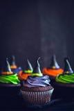 Пирожные шляпы ведьмы Стоковое фото RF