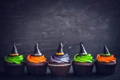 Пирожные шляпы ведьмы Стоковая Фотография RF