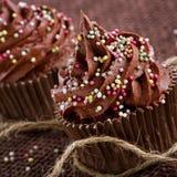 Пирожные шоколада Стоковые Изображения